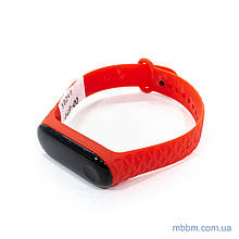 Ремешок Xiaomi Ribbed Strap for Mi Band 3 Red (XMB3-RIB-RD)