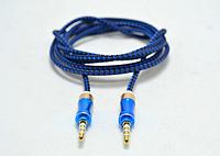 AUX-кабель тканевый (1,5 м)