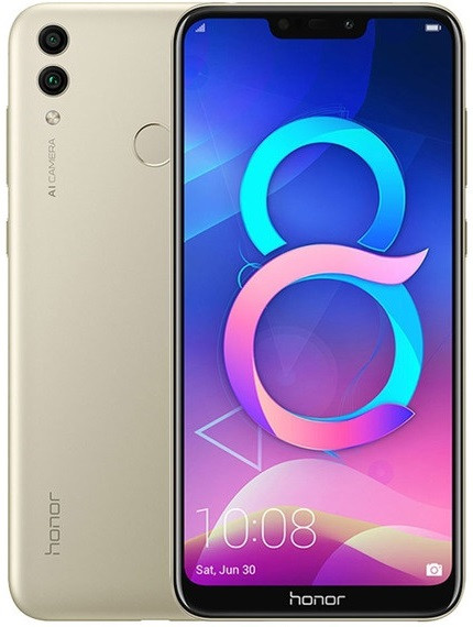 Смартфон Huawei Honor 8C 4/32GB Dual Sim Gold CN_