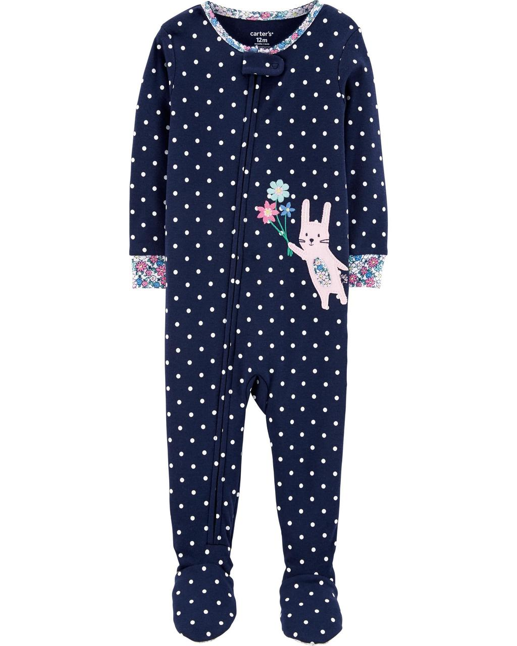 Пижама Carter's темно-синяя 18m(78-83cm) (250/569)