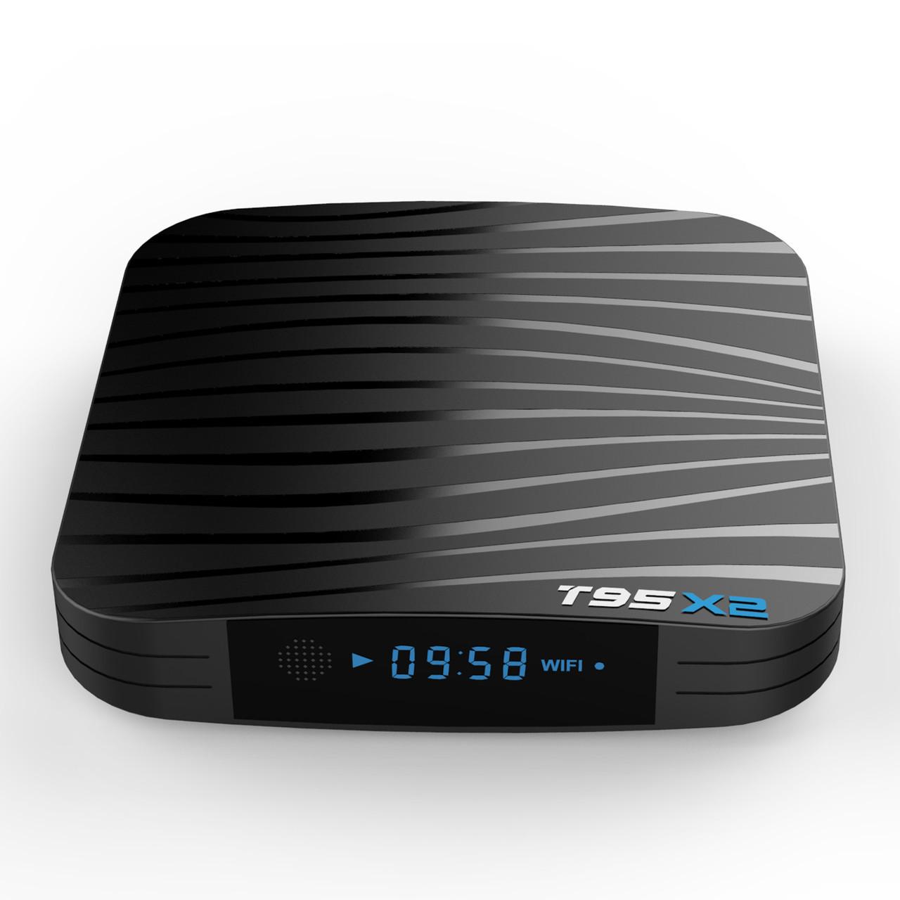 T95X2 4/64 | S905X2 | DDR4 | Смарт ТВ Приставка | Android Smart TV Box (+ налаштування)