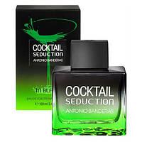 Парфюмированная вода Cocktail Seduction in Black for Men Antonio Banderas (100 мл) для мужчин