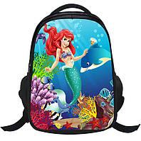 Школьные рюкзаки для девочек с рисунком русалочки, фото 1