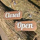 "Табличка ""open/closed"", фото 3"