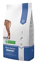 Корм Nature's Protection (Натур Протекшн) MAXI JUNIORдля щенков до 18 месяцев крупных пород, 18кг
