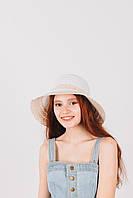 Шляпка слауч Амбри белая, фото 1