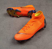 bd1282d6 Бутсы Mercurial Superfly 6 Elite FG, оранжевые, футбольные, беговые