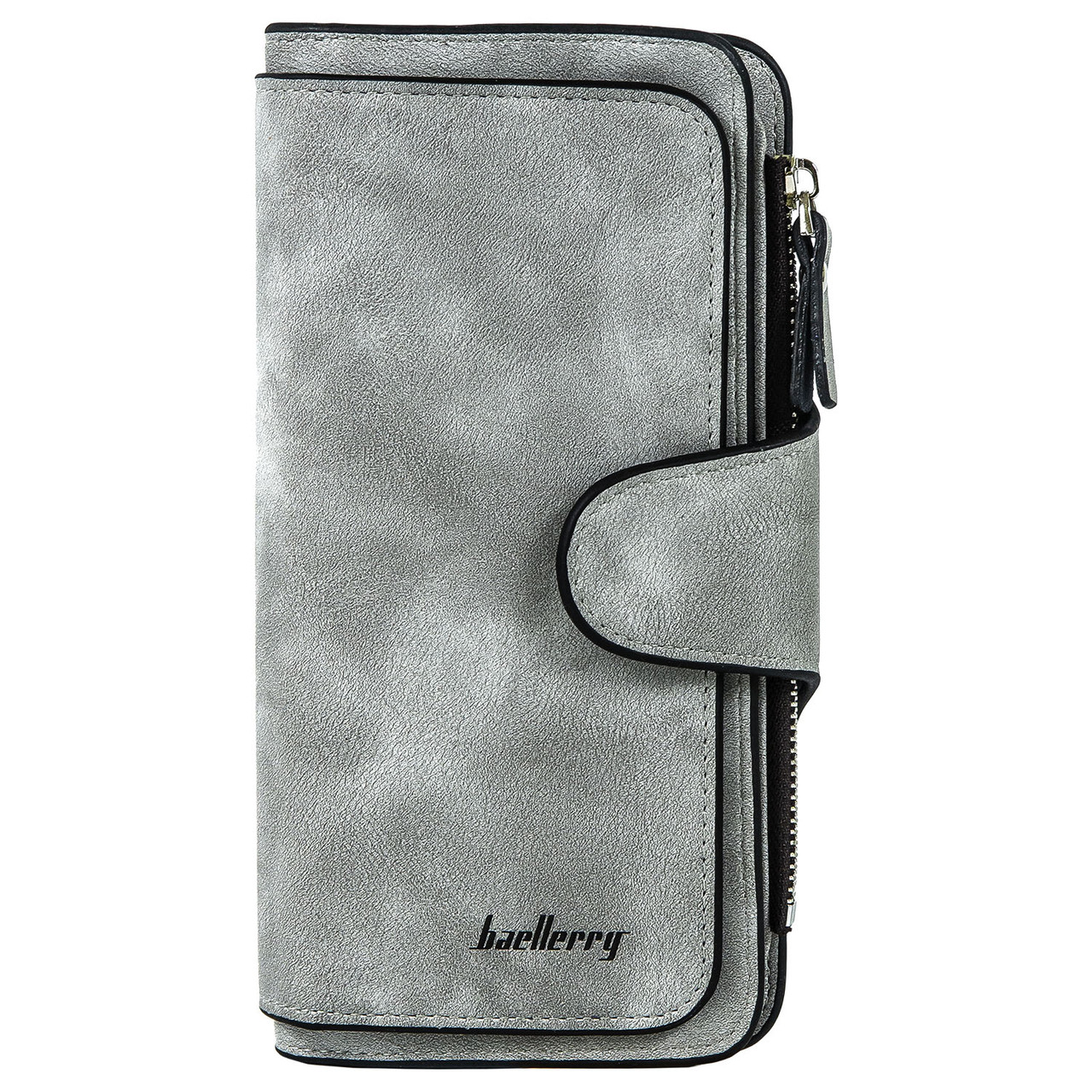 Женский кошелек портмоне Baellerry Forever серый