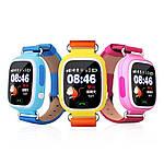 Умные детские смарт часы с GPS Smart Baby Watch Q80 РОЗОВЫЕ, фото 5