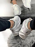 Женские кроссовки Adidas Shark Boost White. Живое фото. Реплика, фото 2