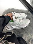 Женские кроссовки Adidas Shark Boost White. Живое фото. Реплика, фото 5