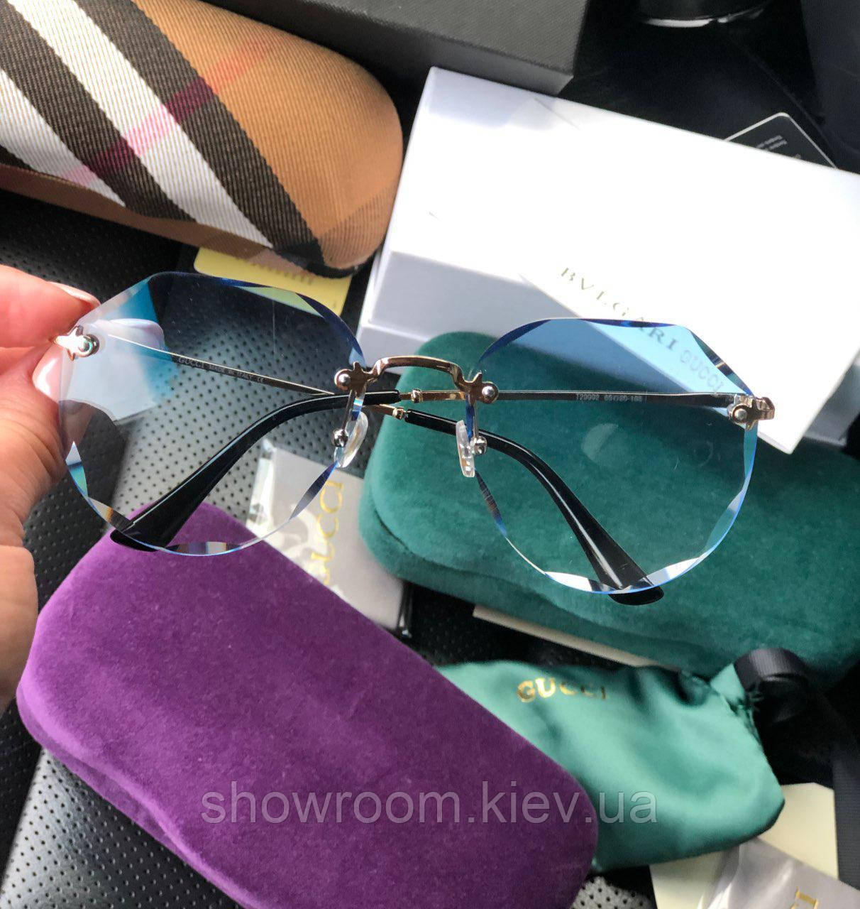 Женские солнцезащитные очки в стиле GUCCI (29992-1)