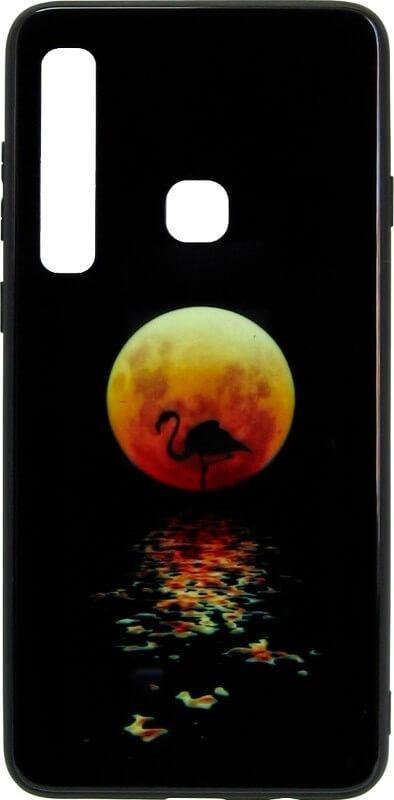 Чехол-накладка для Samsung (A920) 2018 Black Phoenix Luminous Black Moon Luminous