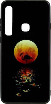 Чехол-накладка для Samsung (A920) 2018 Black Phoenix Luminous Black Moon Luminous, фото 2