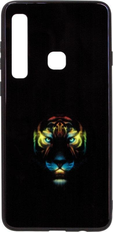Чехол-накладка для Samsung (A920) 2018 Black Phoenix Luminous Black Tiger Luminous