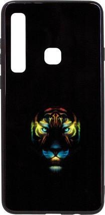 Чехол-накладка для Samsung (A920) 2018 Black Phoenix Luminous Black Tiger Luminous, фото 2