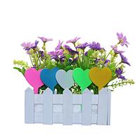 Табличка для растений Сердце (информационная)*10шт, фото 1
