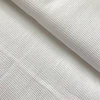Вафельная ткань белая однотонная, ширина 95 см