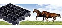 Газонная решетка Ekoteck Maneg чёрная для конного спорта