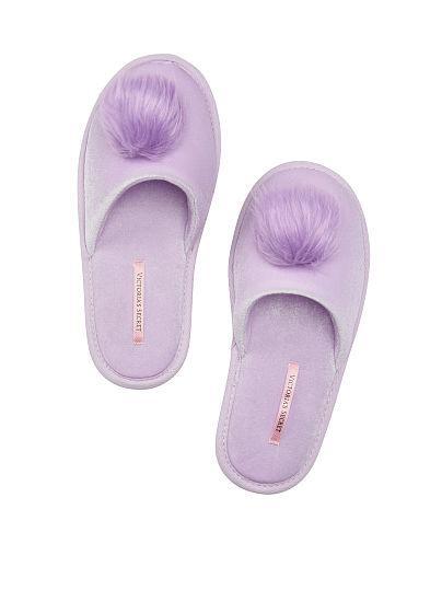 Тапочки Victoria's Secret размеры S и M лавандовые
