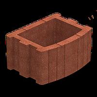 Золотой Мандарин Цветочница квадратная (400х500) 25 см, фото 1