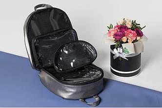 Кожаный рюкзак для визажиста, фото 2