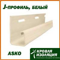 J-профиль Asko, белый