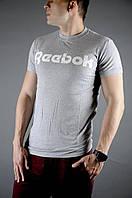 Футболка мужская летняя Reebok, цвет серый, фото 1