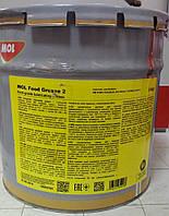 Смазка для пищевой промышленности MOL FOOD GREASE 2 ведро 8 кг пищевая NSF
