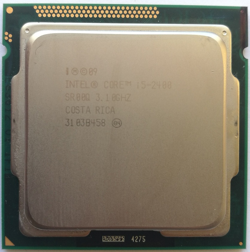 Процессор Intel Core i5-2400 D2 SR00Q 3.1GHz 6M Cache Socket 1155 Б/У