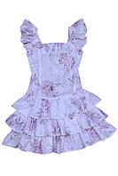 """Платье нарядное детское из х\б ткани М -948  рост 98 тм """"Попелюшка"""", фото 1"""