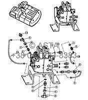 Проводка главного клапана 4 21 12200 00 31-3 на Jonyang 230E, фото 1