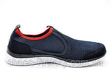 Летние мужские кроссовки в стиле Nike Free Run 3.0 Slip On, Dark Blue\Red, фото 3
