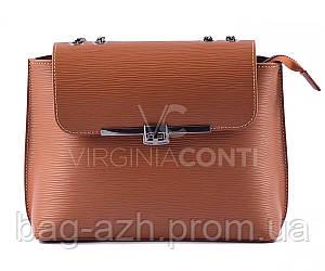 Кожаная женская сумка Virginia Conti