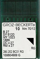 Иглы Groz-Beckert для оверлока DCx27 (100шт)