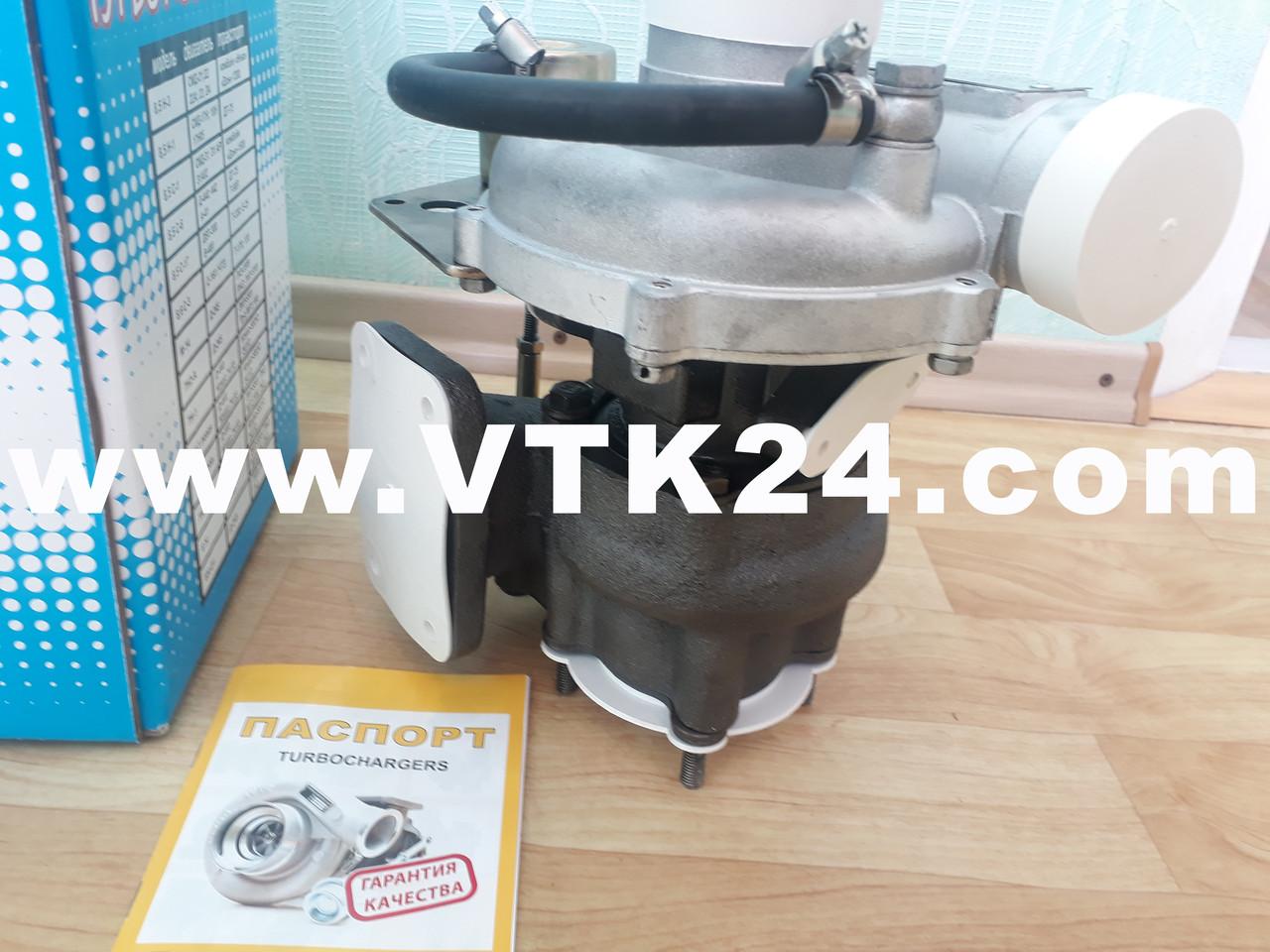 Турбина на Валдай   Турбокомпрессор на ГАЗ 3310    ТКР 6.1