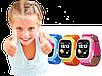 Умные детские смарт часы с GPS Smart Baby Watch Q80 СИНИЕ, фото 8