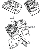 Проводка главного клапана 6 21 12200 00 31-5 на Jonyang 230E, фото 1