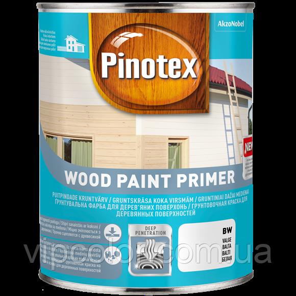 PINOTEX WOOD PAINT PRIMER Белая 2,5 л Грунтовочная краска на водной основе для деревянных поверхностей