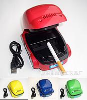 USB пепельница «авто» / «машина» / «машинка» с вытяжкой и фильтром для очистки дыма
