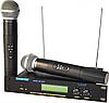 Радиосистема радиомикрофоны SHURE SM 58 II UHF - 2 шт + база, фото 3