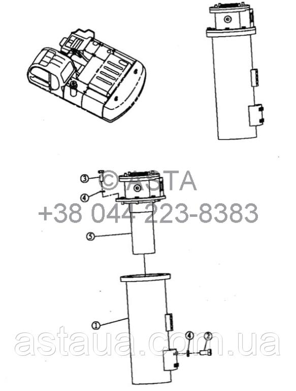 Гидравлический фильтр 18E 12100 00 00 на Jonyang 230E