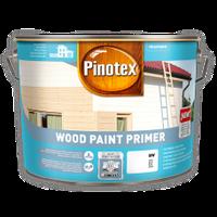 PINOTEX WOOD PAINT PRIMER Белая 10 л Матовая алкидная грунтовочная краска для деревянных поверхностей