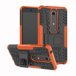 Протиударний чохол Armor для Nokia 6 2018 Помаранчевий