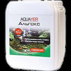 Aquayer Альгокс, 5 л - для борьбы с водорослями в пруду