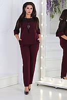 Женский стильный костюм  ХВ153 (норма), фото 1