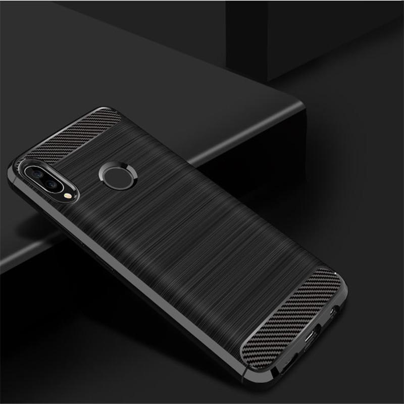 Чехол Carbon для Huawei P Smart Plus (2 цвета)