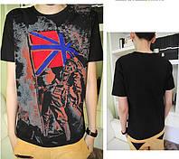 Качественная эксклюзивная подростковая футболка 44