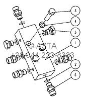 Выпускной масляный клапан 21 14009 00 10на Jonyang 230E