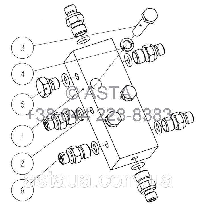 Впускной масляный клапан 21 14009 00 10 на Jonyang 230E